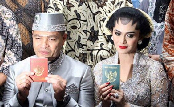 Foto-foto pernikahan raul lemos dan krisdayanti